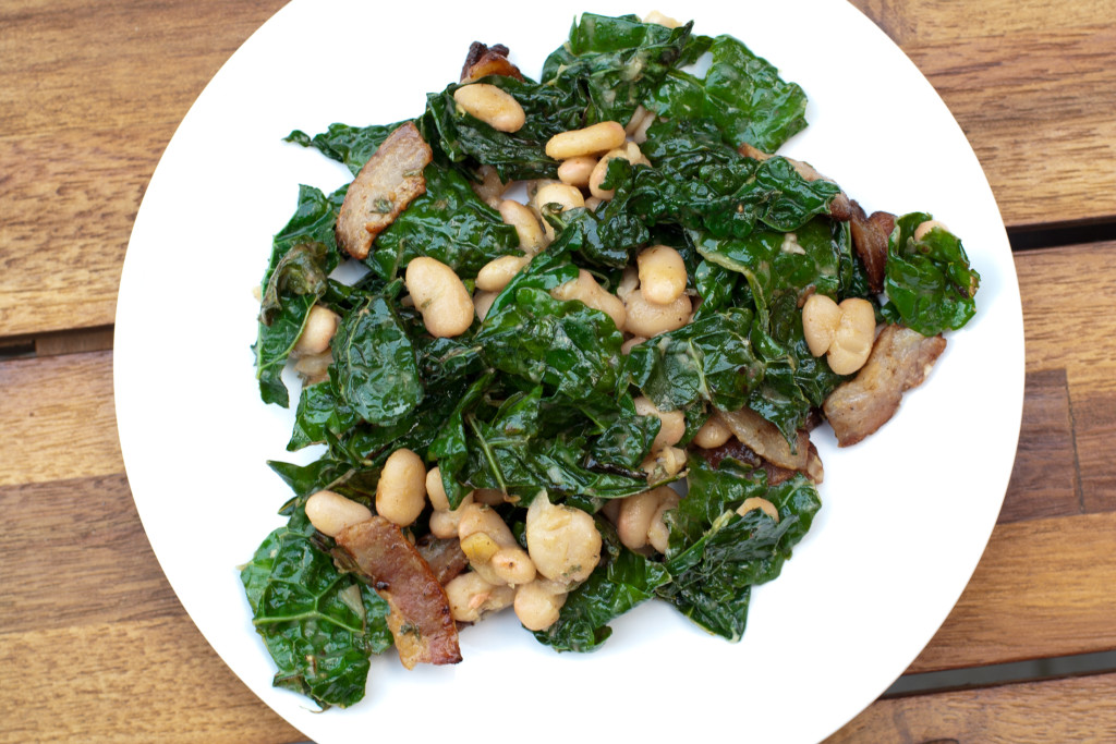 Kale White Bean Salad